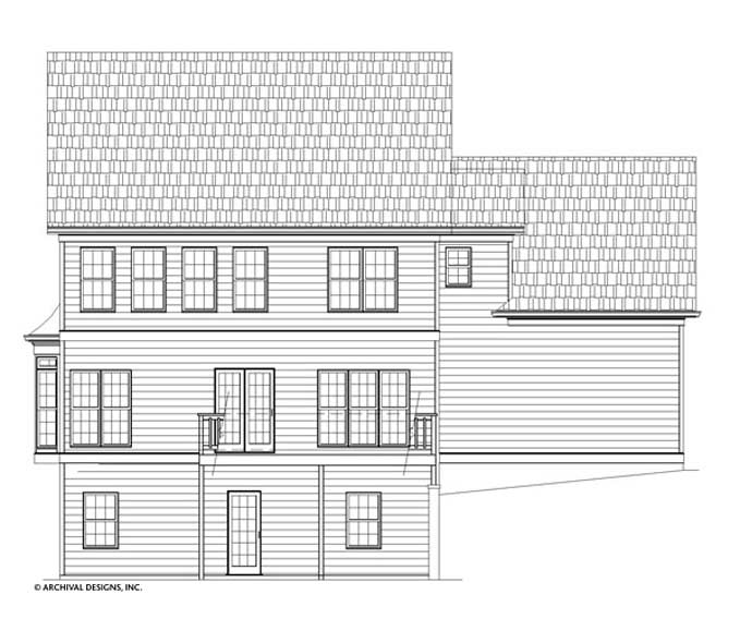 Spreading Oaks House Plan