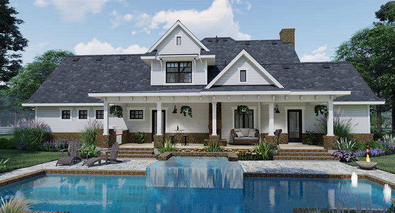 Spring Creek Farm House Plan