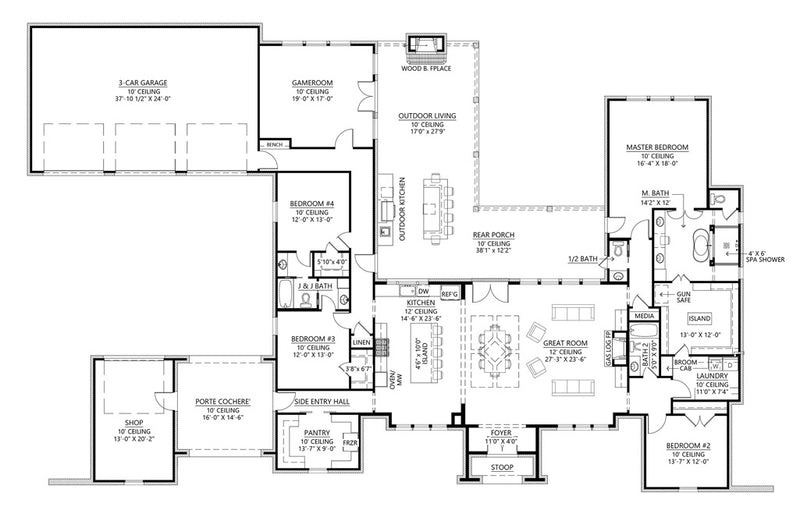 St Andrews House | First Floor Plan