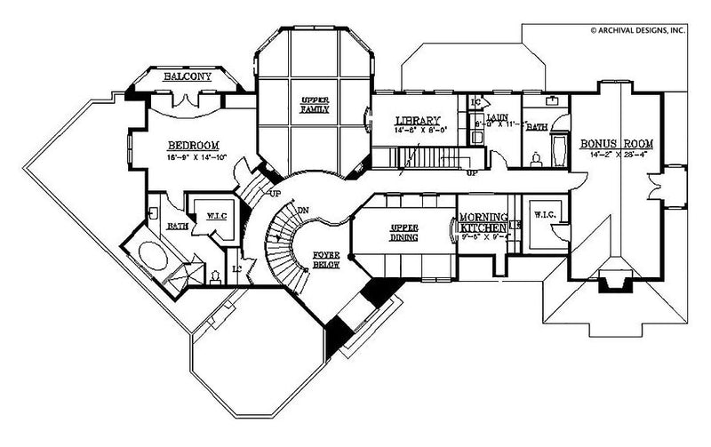Stone Park second floor, floor plan