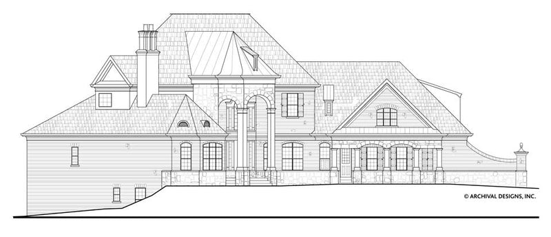 Stone Pond House Plan