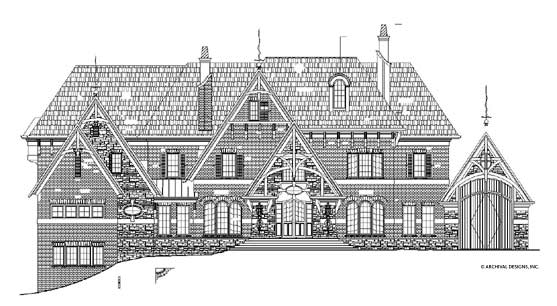 Strathmore Hall House Plan