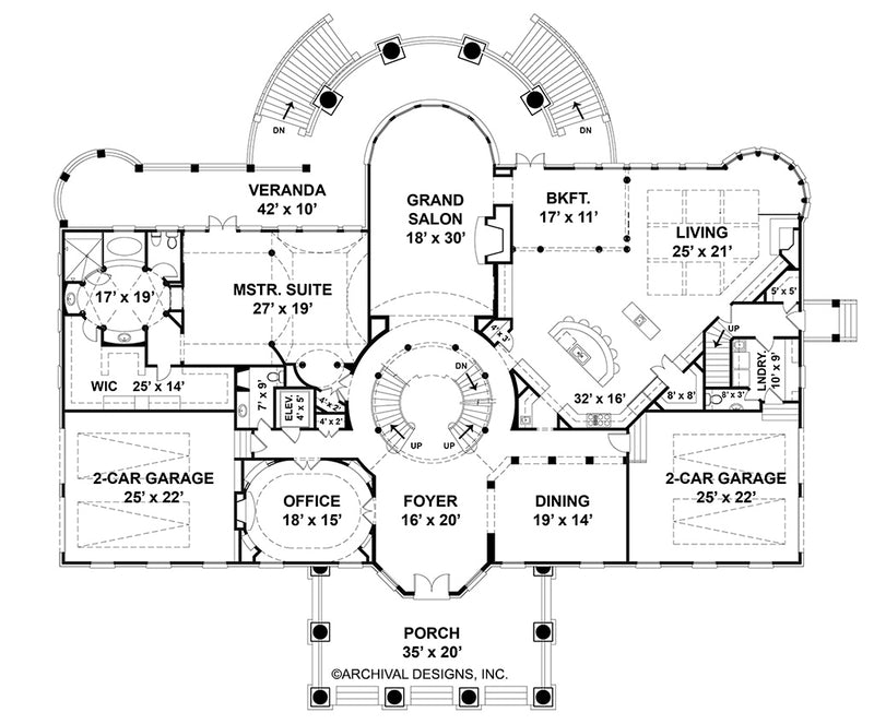 Sussex House first floor, floor plan
