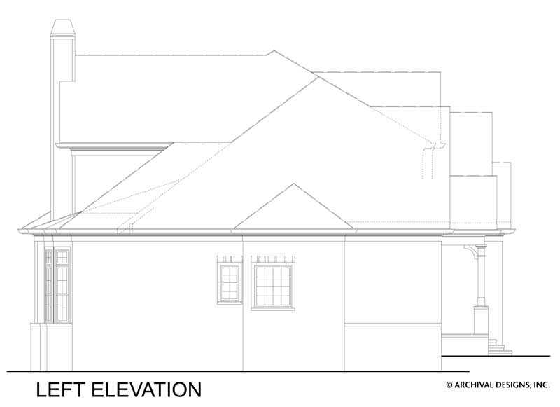 Tillman Falls House Plan