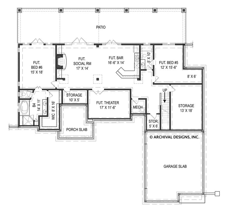Tilly basement floor plan