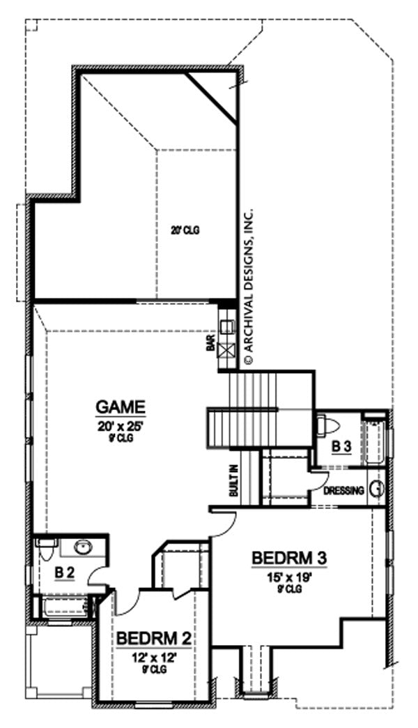 Topaz Way second floor , floor plan
