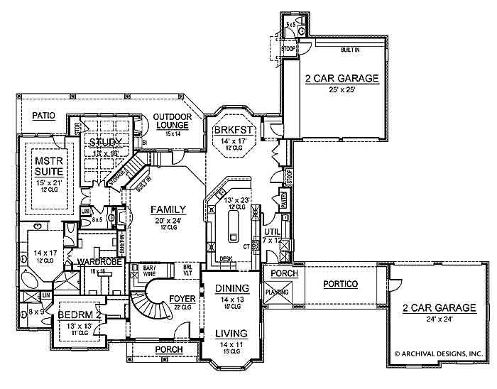 Tottenham first floor, floor plan