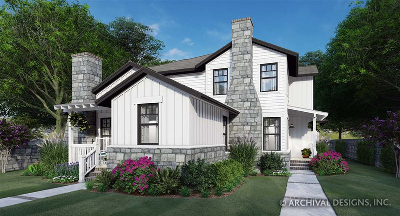 Twin Creek Cottage Duplex Plan