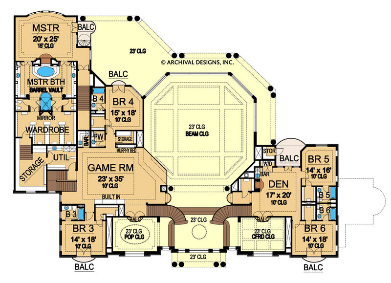 Valesko second floor, floor plan