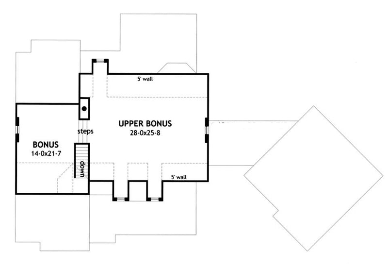 Vida de la Confianza second floor plan
