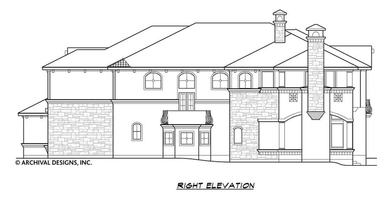 Villa Barbaro House Plan