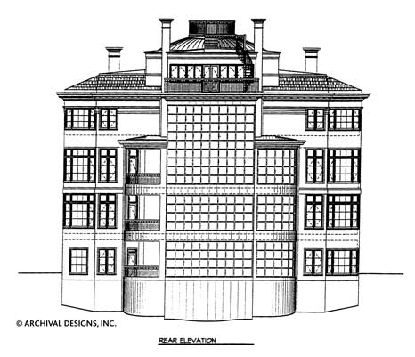 Villa Capri House Plan