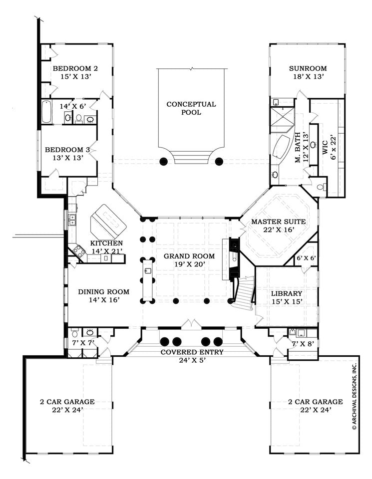 Villa De Saye House Plan on garage plans, contemporary house plans, new ranch style home plans, rambler style home plans, ranch remodel before and after, custom home plans, mediterranean style home plans, craftsman house plans, ranch blueprints, bungalow house plans, l-shaped range home plans, ranch mansions, beach house plans, ranch horses, large family home plans, rustic home plans, victorian house plans, european house plans, log home plans, colonial house plans, luxury house plans, cabin plans, florida house plans, french country house plans, floor plans, ranch decks, luxury home plans, patio home plans, 1 600 sf ranch plans, 3 car garage ranch plans, farmhouse plans, southern brick home plans,