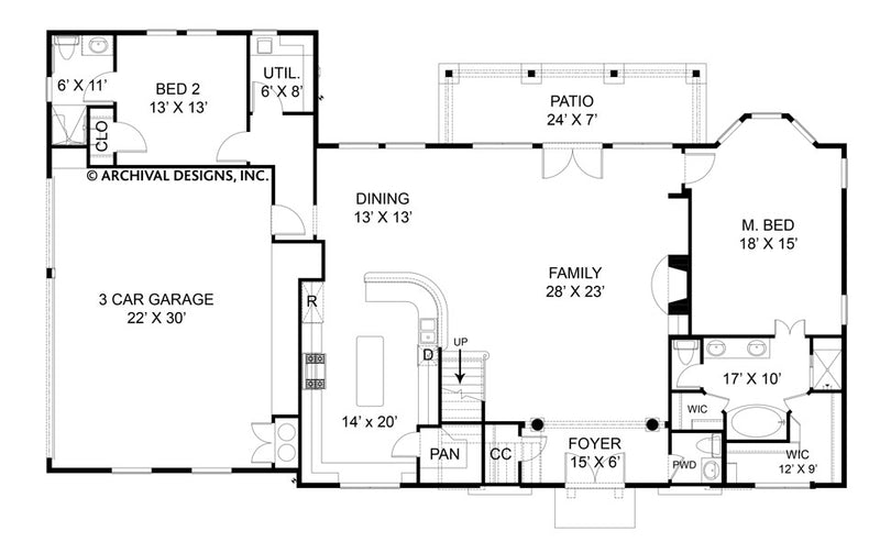 Villa Di Vino Place first floor, floor plan