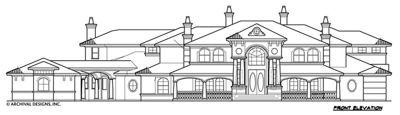 Villa Emo House Plan