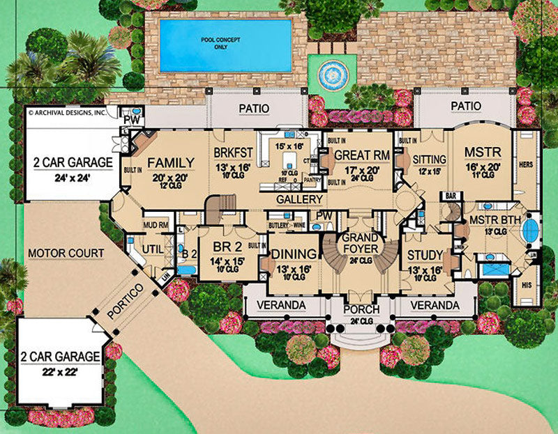 Villa-Emo-First-Floor_M_800x Largest Floor Plan Mansion House on largest house floor plan, largest hotel floor plan, largest triple wide floor plans, largest manufactured home floor plan,