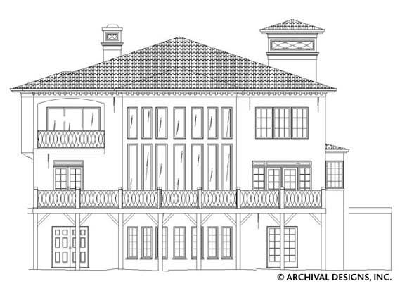 Villa Royale House Plan