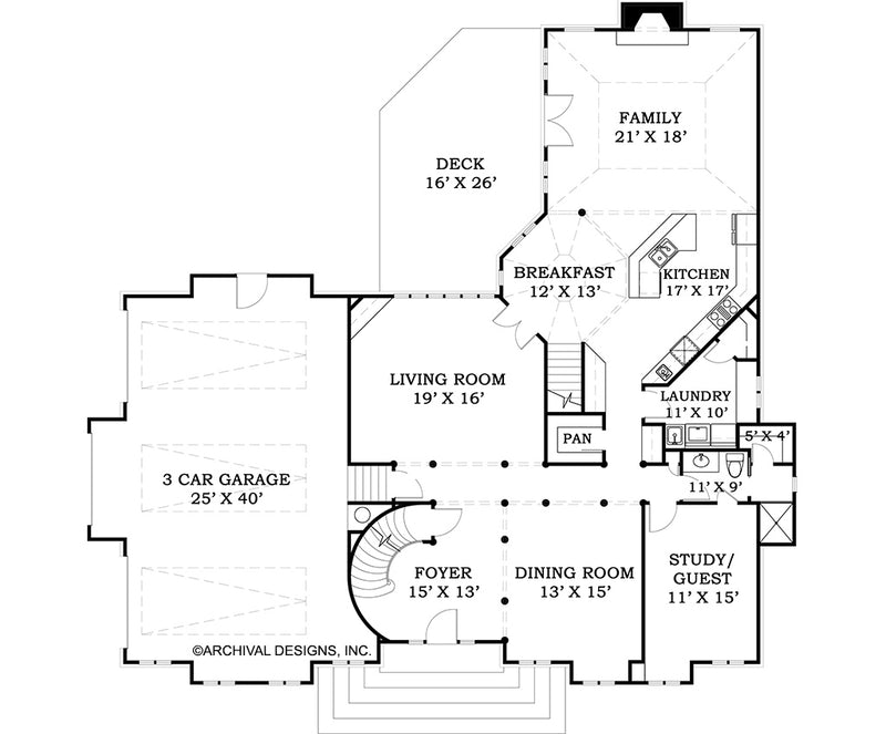 Villandry, First Floor Plan