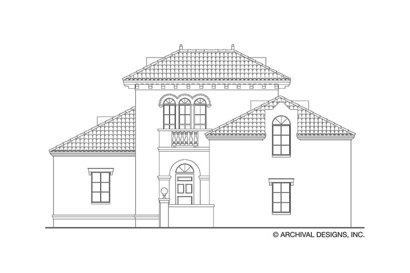Villoresi House Plan