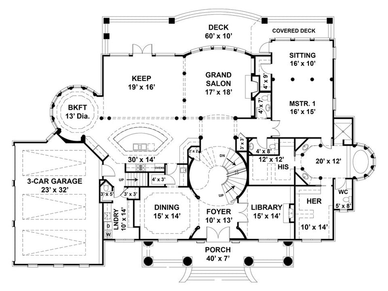 Vinius First level floor plan