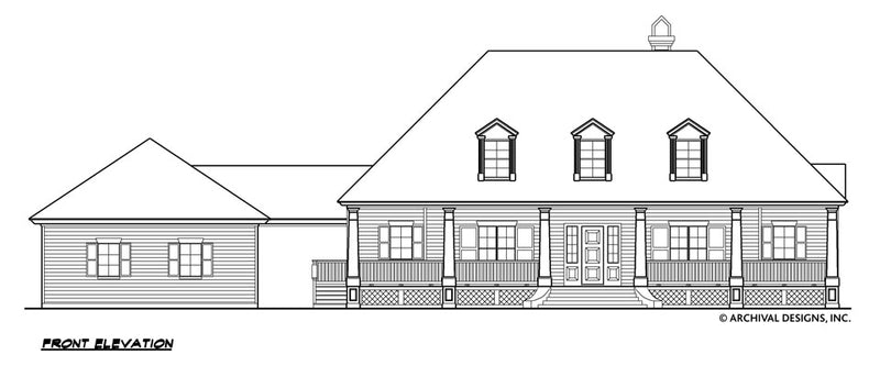 Williamsburg House Plan