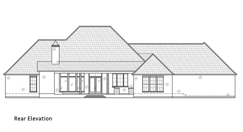 Walnut Grove II - Rear Elevation