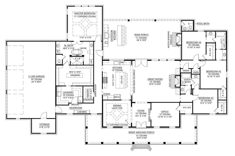 Walnut Grove II - First Floor Plan