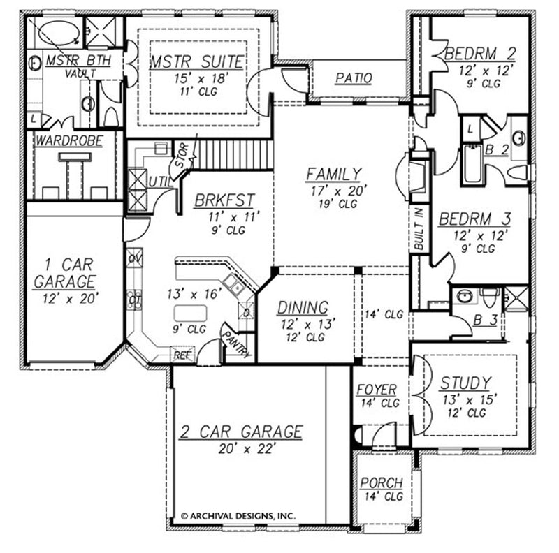 Waterstone first floor, floor plan