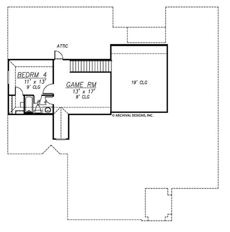 Waterstone second floor, floor plan