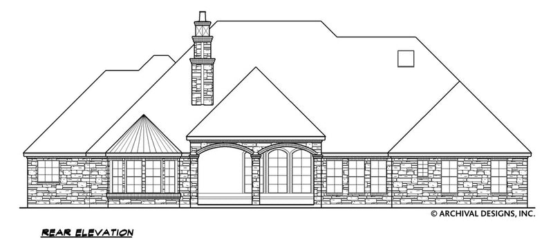 Wellington Manor House Plan