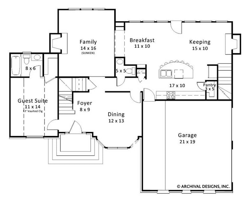 Wentworth Place first floor, floor plan
