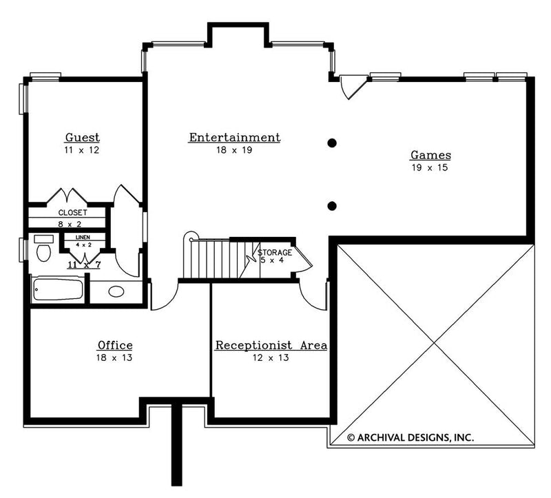 Wesley basement floor plan