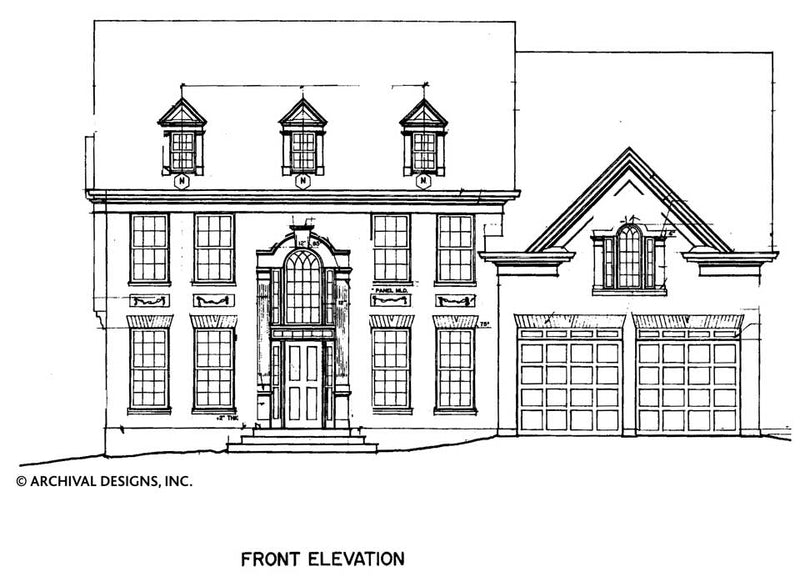 Wesley House Plan