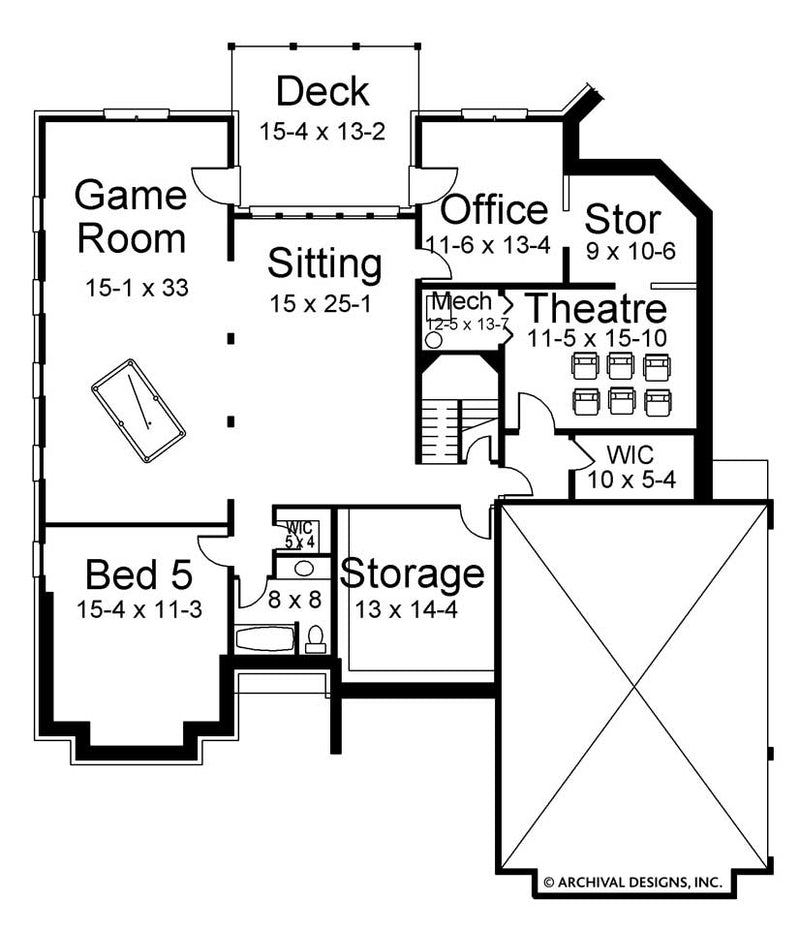 Wesmere basement floor plan