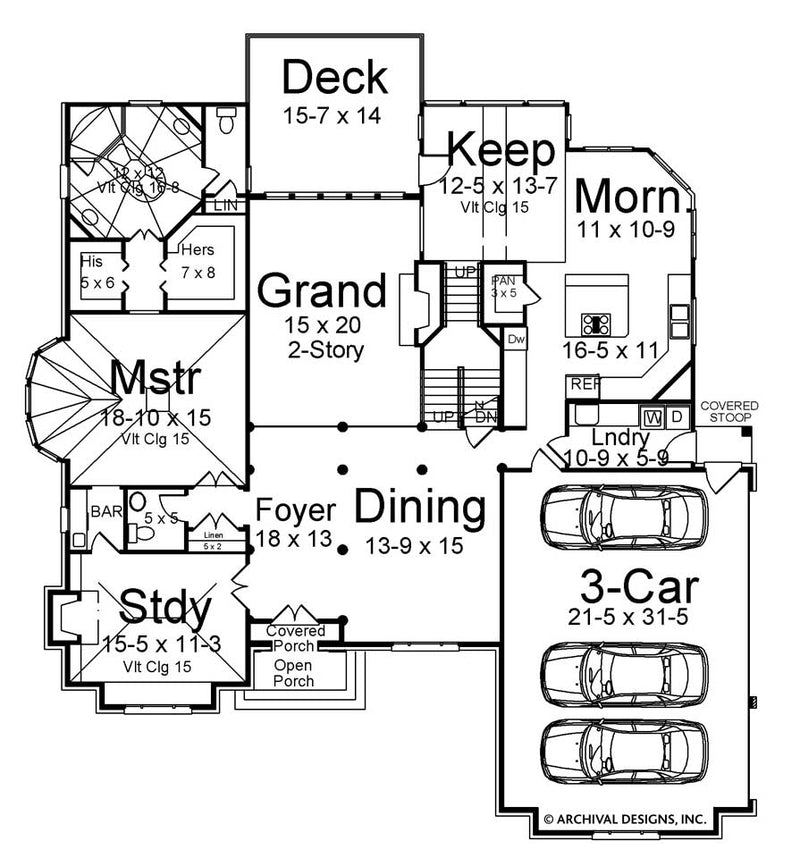 Wesmere first floor, floor plan