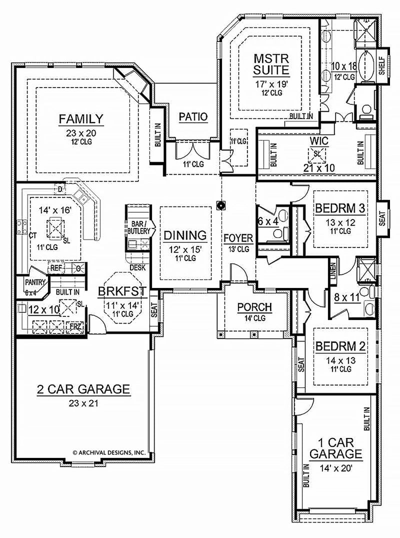 Whitestone first floor, floor plan