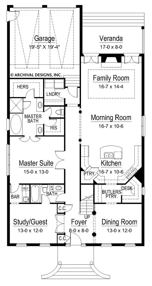 Willmongton first floor, floor plan