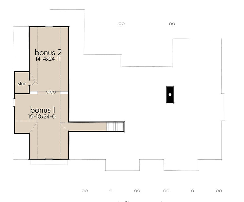 Willow Creek Bonus Room Floor Plan