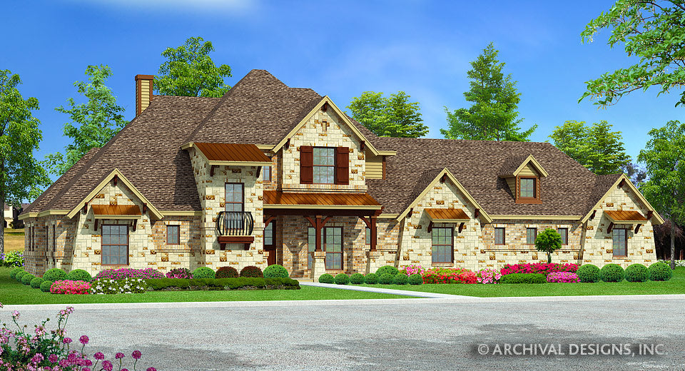 Woodbridge Heights House Plan