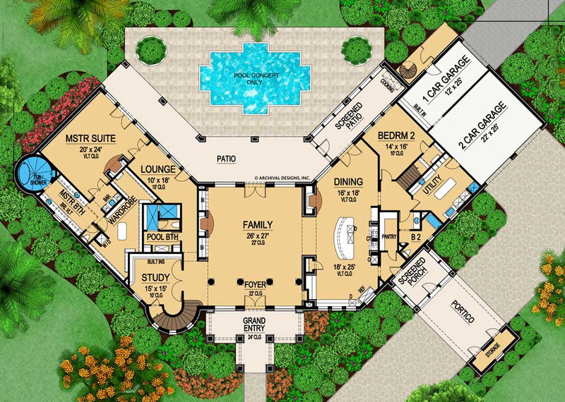 Wynnchester first floor, floor plan