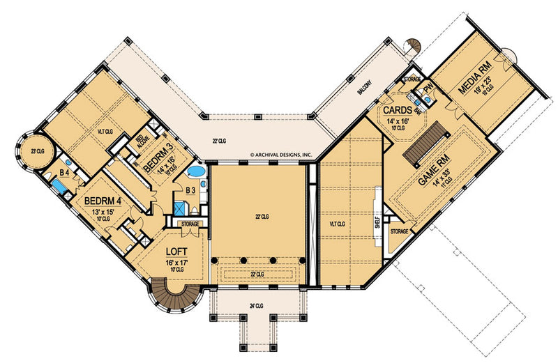 Wynnchester second floor, floor plan