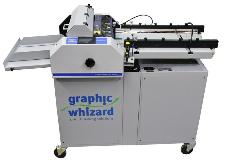 Creasing machine|paper creaser|Graphic Whizard|perforating machine