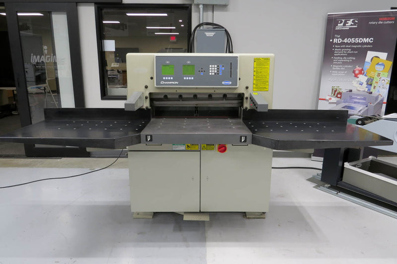 "Pre-Owned Challenge 305XG 30.5"" Programmable Paper Cutter"