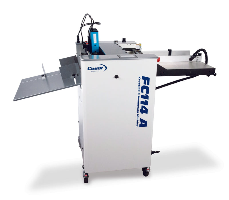 Count FC114A Numbering Perforating Creasing Machine