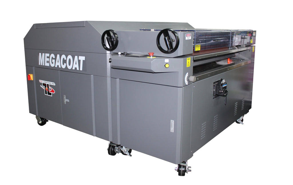 Tec Lighting MegaCoatXL 50 UV Coater