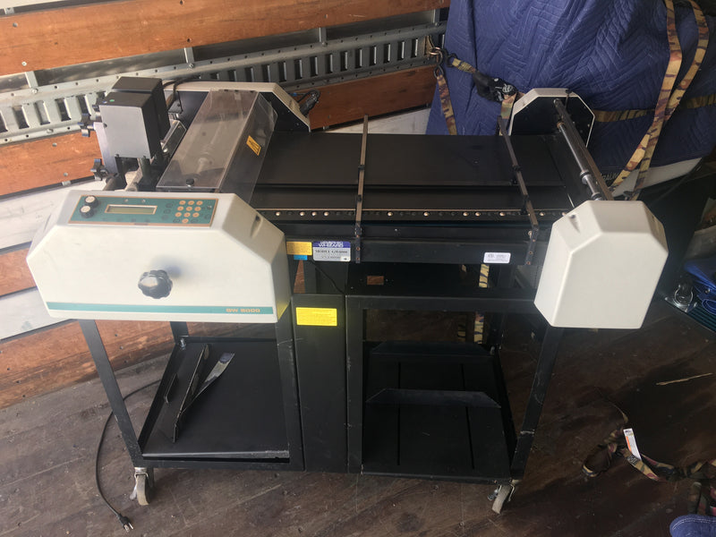 Pre-Owned Graphic Whizard GW8000E with Register Board Fully Refurbished