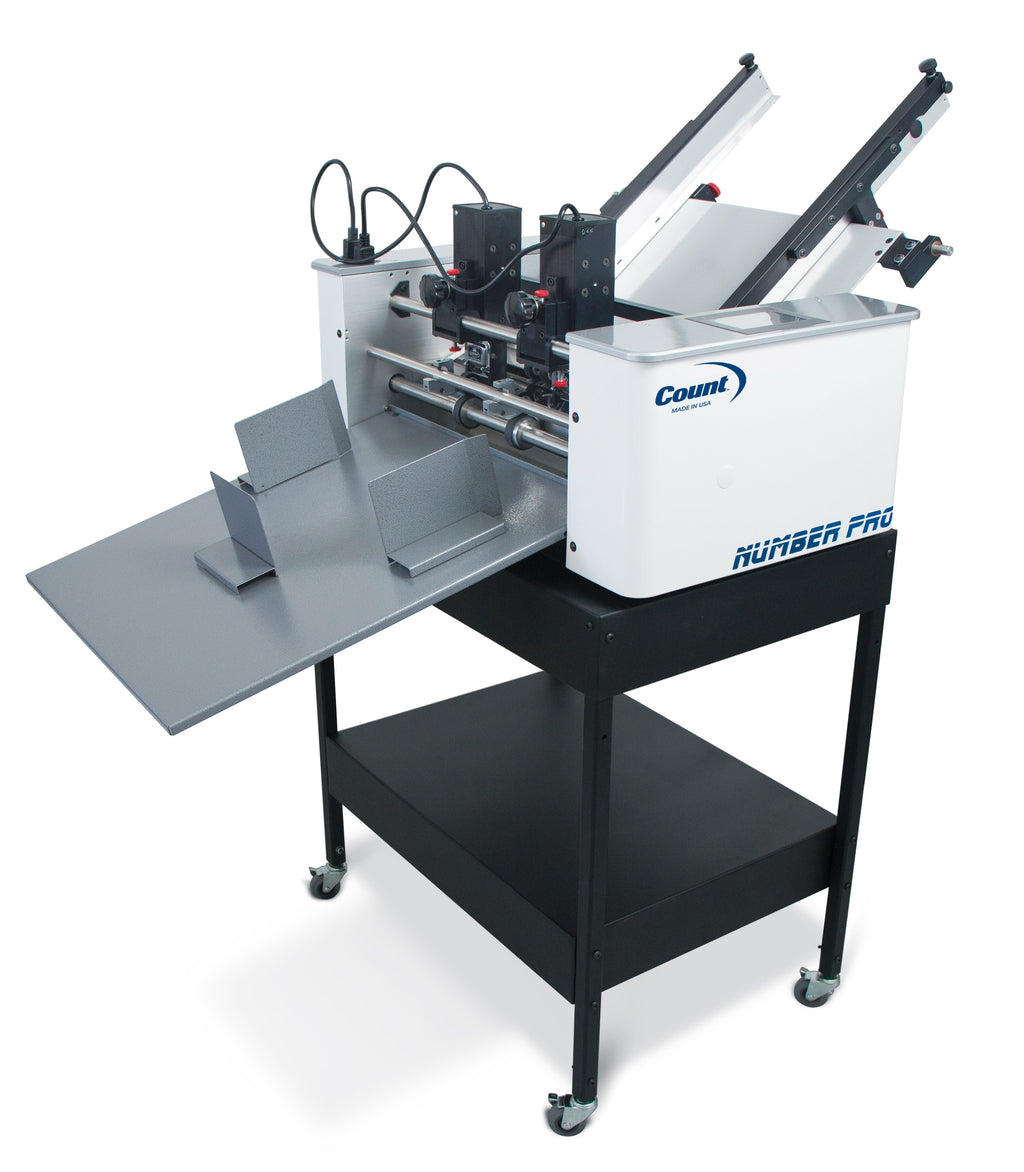 Count NumberPro Numbering Perforating Scoring Machine