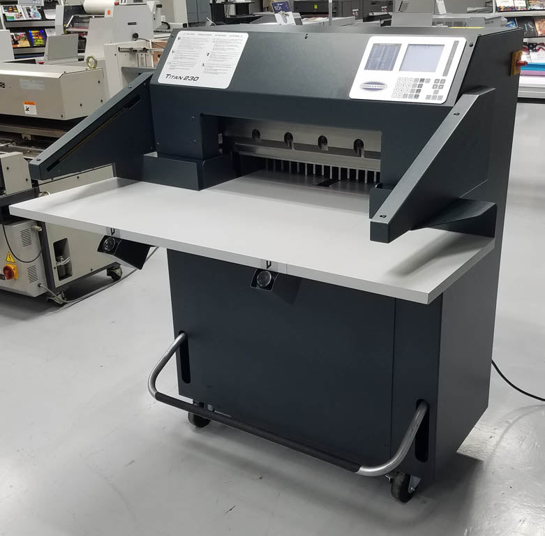 "Pre-Owned Challenge Titan 230 23"" Programmable Paper Cutter"