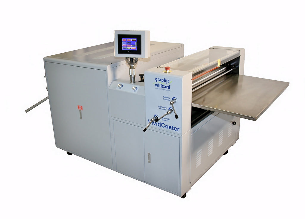 Graphic Whizard XDC 480M 660M 750M UV Coater Vivid Coater