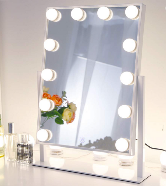 12pc LED Makeup Mirror